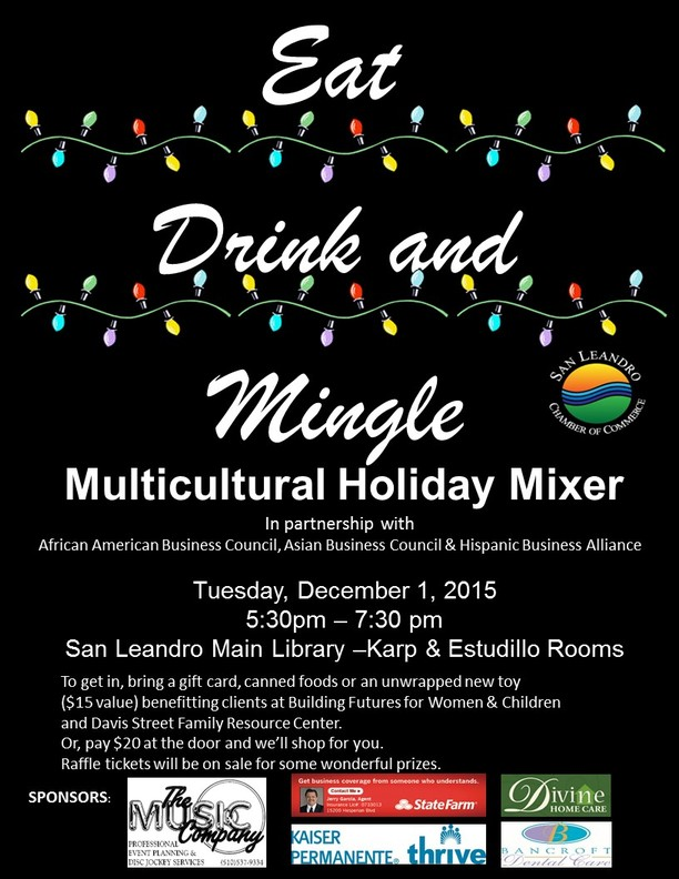 The chamber link multicultural holiday mixer december 1