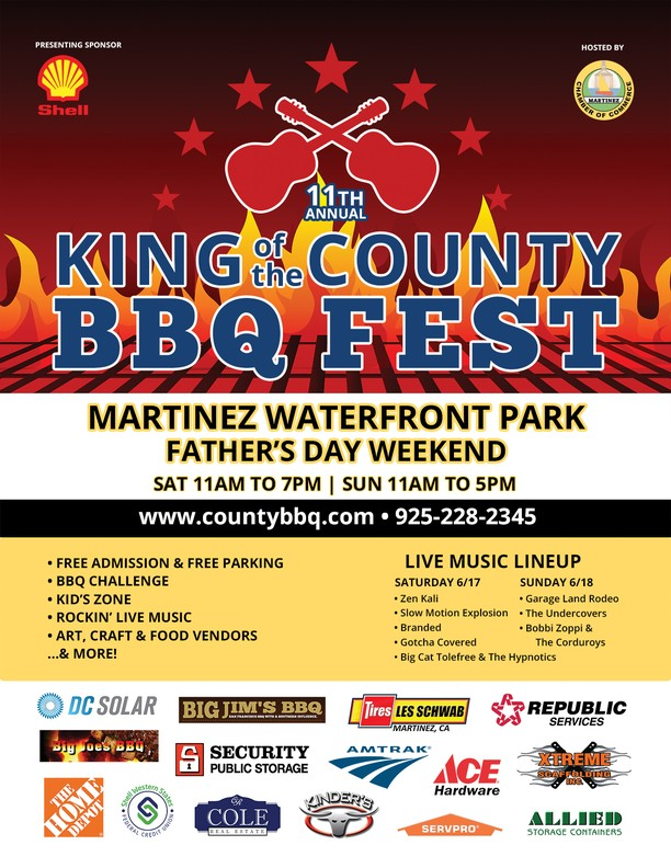 King of the County BBQ and Music Festival, June 17 & 18