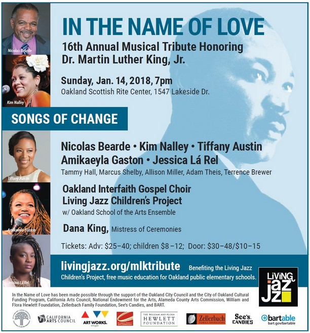 In The Name of Love, the 16th Annual Musical Tribute Honoring Dr. Martin Luther King, Jr., January 14