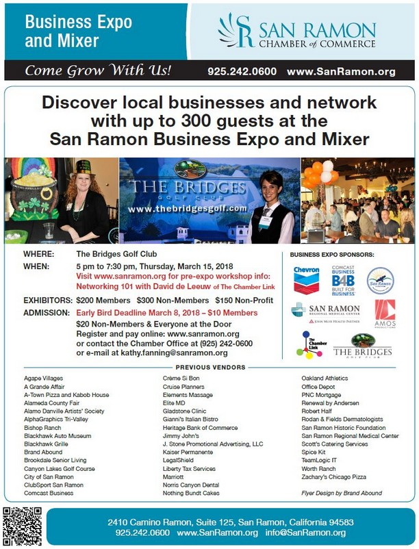 Business Expo and Mixer at the Bridges Golf Club, March 15