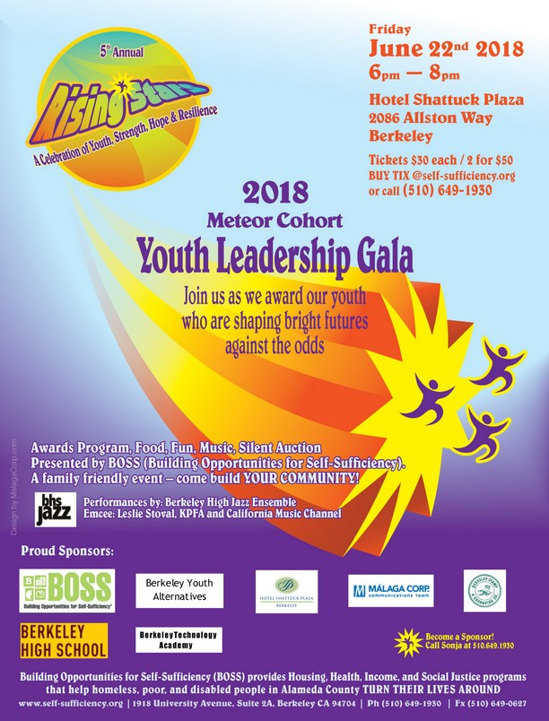 2018 Rising Stars Youth Leadership Gala, June 22