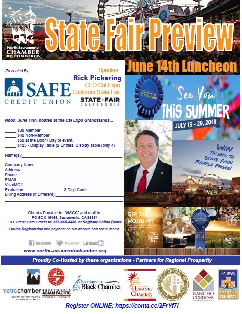 State Fair Preview Luncheon, June 14