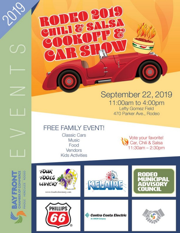 Rodeo 2019 Chili & Salsa Cookoff & Car Show, September 22