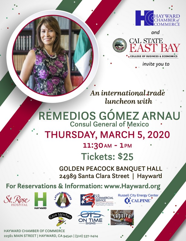 International Trade Luncheon, March 5