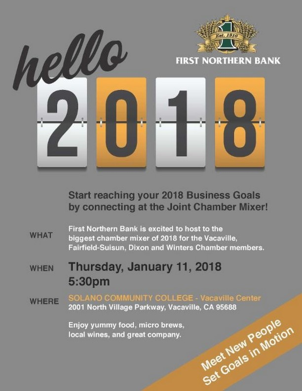 Four Chambers Networking on Next Thursday, January 11th
