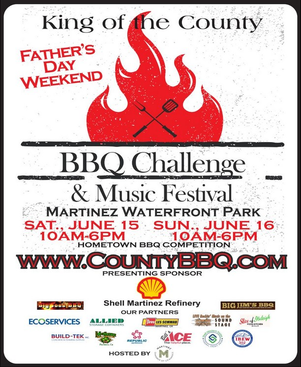 King of the County BBQ Challenge & Music Festival, Jun 15 & 16