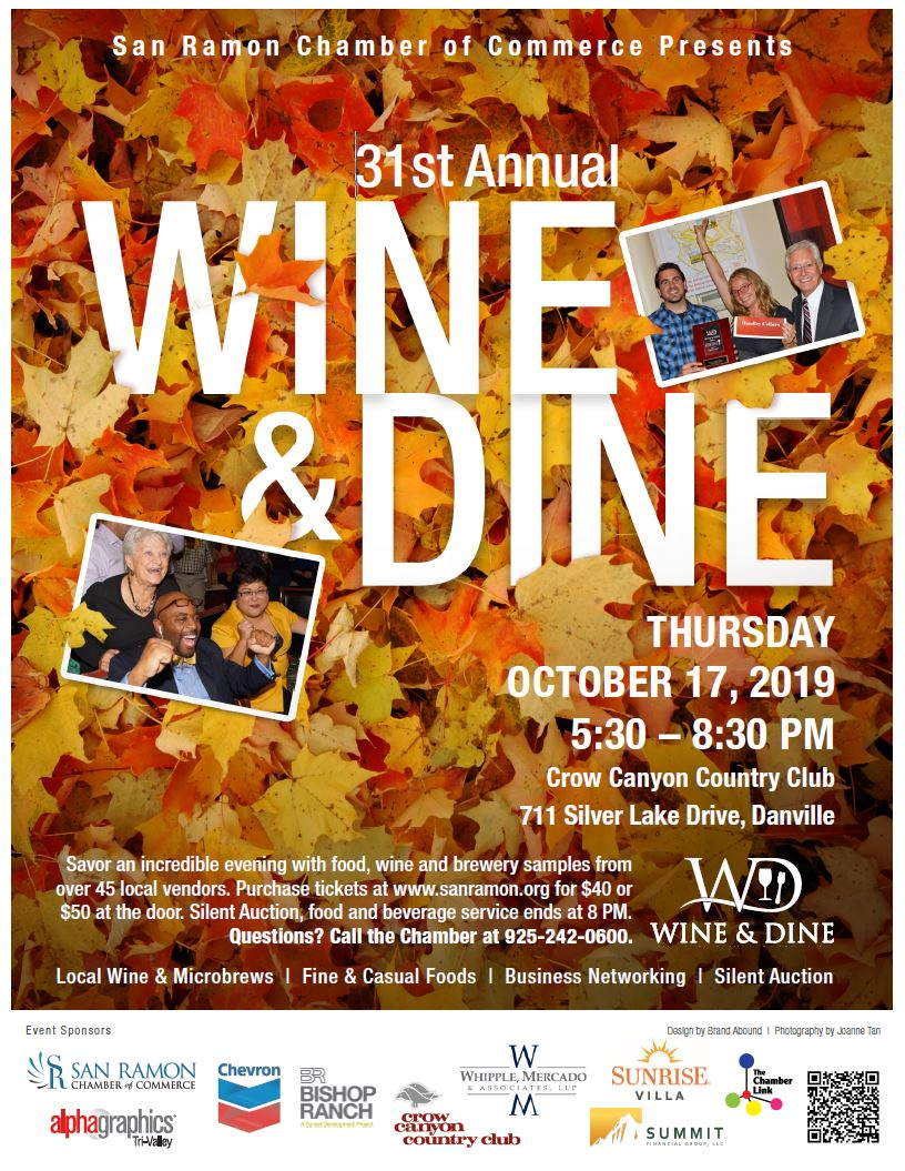 Wine and Dine 2019, October 17