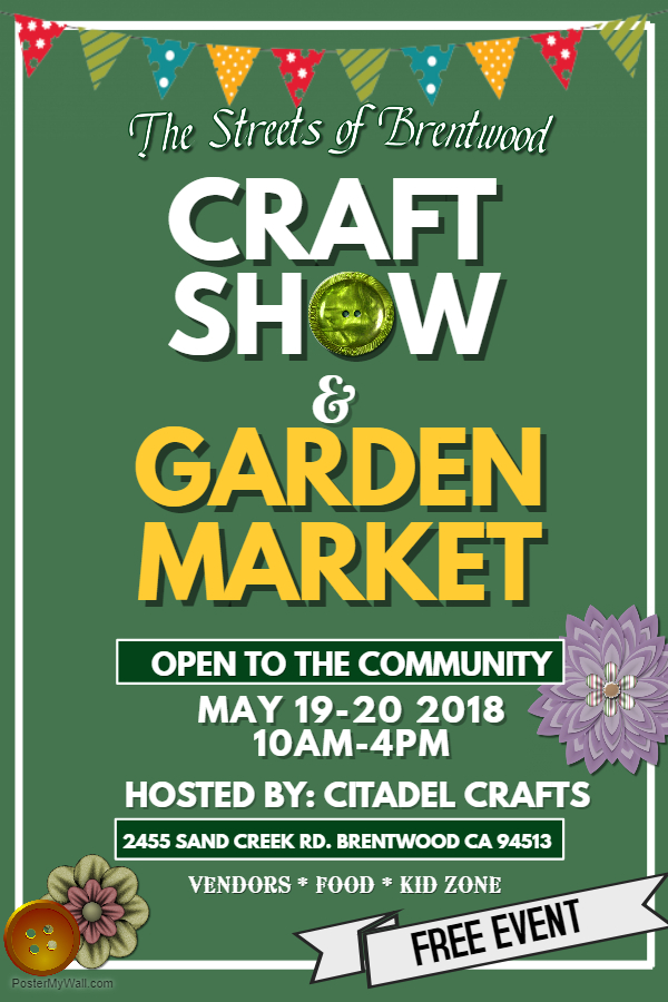 Spring Craft Show and Garden Market, May 19 & 20
